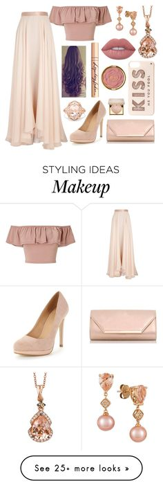 """Untitled #993"" by aralynwinchester on Polyvore featuring Miss Selfridge, Lanvin, Dorothy Perkins, LE VIAN, Kate Spade, Effy Jewelry, Stila, Charlotte Tilbury, Lime Crime and Milani"