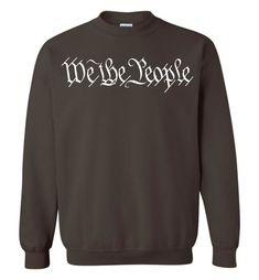 We The People Sweatshirts For Women Men   We The People US Constitution Sweatshirts For Women Men
