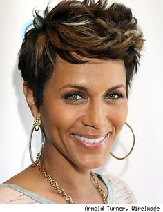 Nicole Ari Parker #HairInspiration #blackhair #blackbeauties