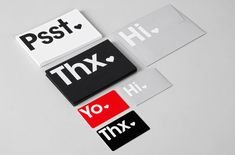 This Typographic Visual Branding Look is Fresh and Minimalist #packaging trendhunter.com