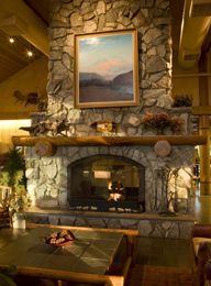 Denali Wilderness Lodge - very rustic, large, and welcoming..enjoyed our stay!