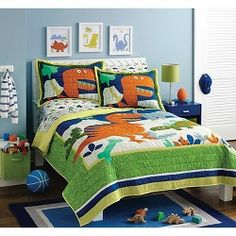 Circo™ Dino Embroidery Quilt - Full/Queen : Target
