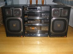vintage boom boxes | View topic - Bought a Vintage Sony FH-215R Boombox • Canuck Audio ...
