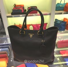 Prada 1BG865 Black RM3,200 ❤❤ it? Order now. Once it's gone, it's gone!  WhatsApp me +44 7535 715 239. We are at Bicester Village (luxury designer fashion).  Last orders 12 midnight ⏰ Malaysia time.  See other items 👉🏾 #L2KLbv #L2KLbv #L2KLbv, or contact me now on WhatsApp for anything you are searching for.