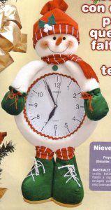 nieve reloj 30