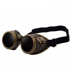 Steampunk Goggles (Brass Style Goggles)
