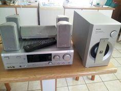 """Philips Receiver FR-996 Assisti muito filme em """"Dolby Digital 5.1"""" com ele."""