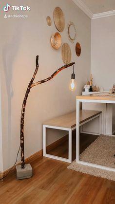 Diy Crafts For Home Decor, Diy Room Decor, Bedroom Decor, Home Room Design, Home Interior Design, Ethnic Home Decor, Diy Organisation, Diy Furniture Easy, Home Decor Kitchen