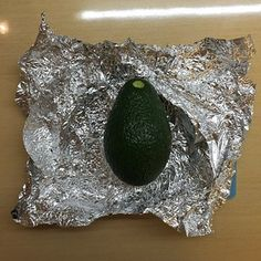 When the timer sounded I removed my precious experiment from the oven and found it was still cool enough to hold. | I Tried The 10-Minute Avocado-Ripening Hack Everyone's Been Talking About
