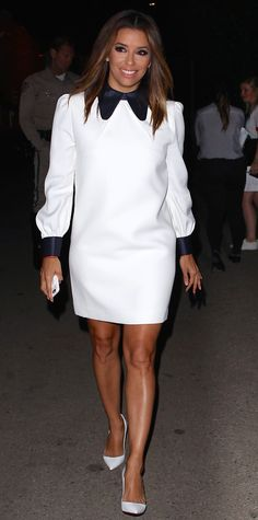 Look of the Day - Eva Longoria from InStyle.com ❤️❤️