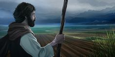 A farmer in Bible times looks over the fields Acts 7, Abraham And Sarah, Prophet Isaiah, Presence Of The Lord, James 5, Kings Of Israel, Human Reference, Everlasting Life, Here On Earth
