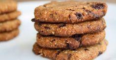 Koekjes van amandelmeel; suikervrij en glutenvrij Binnen een half uur heb je deze heerlijke gezonde koekjes gemaakt.... en waarschijn...