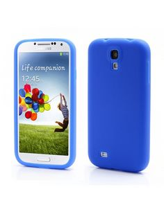 Θήκη Σιλικόνης για Samsung Galaxy S4 i9500 i9502 i9505 - Μπλε