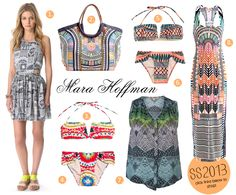[ ALOHA SS13! ] Mara Hoffman: Polynesia-Fever SS2013 for more ethnic inspired fashion and global style visit www.wandering-threads.com