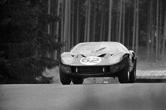 Edward Nelson/Peter de Klerk, Ford GT40, Nurburgring 1967