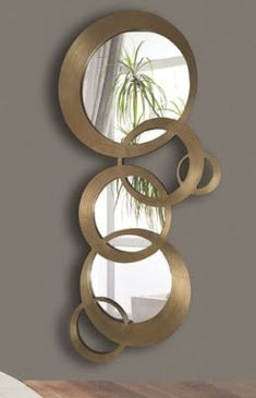 Best 45 modern wall mirror design ideas for hallway decor 2019 House Ceiling Design, Ceiling Design Living Room, Tv Wall Design, Hallway Mirror, Mirror Ceiling, Mirrors, Decoration Plante, Hallway Decorating, Home Wall Decor