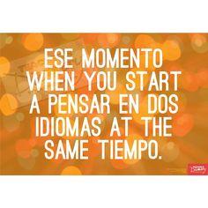 Two Languages Spanish Mini-Poster, Spanish: Teacher's Discovery #spanishmemes