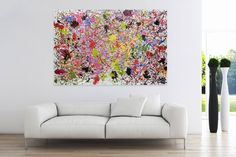 Öl Gemälde 'Vereinte Kräfte' 180x120cm