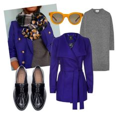 """""""New preppy"""" by stefania-fornoni on Polyvore featuring Acne Studios, Ted Baker, Sun Buddies and Zara"""