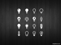 Light Bulb Icon Set by Azis Hertanto