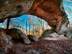 Fear Is The Mindkiller! Pretty House Arch Daniel Boone National Forest  Jackson County Kentucky. By William Fultz II [2048 X 1536]