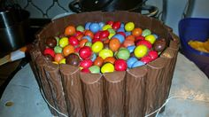Sandy's Kitchendreams: M&M's Kuchen