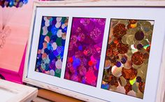Sequined Wall Art with Jessie Jane