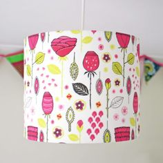 Abstract Rose Ceiling Lampshade
