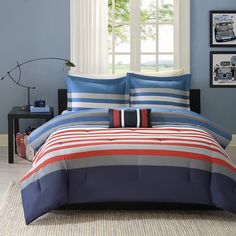 Mi Zone Noah 4-piece Comforter Set - Overstock™ Shopping - The Best Prices on Mi-Zone Teen Comforter Sets