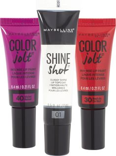 Maybelline Shine With A Jolt Of Color Naughty Limited Edition Set $16.99 Holiday 2016