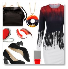 """""""Ombre dress"""" by simona-altobelli ❤ liked on Polyvore featuring Miss Selfridge, Givenchy, TADAM! DESIGN and Beauty Is Life"""