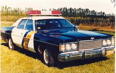 1973 State Trooper's car