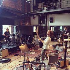 """Muse: il settimo album si intitolerà """"Drones"""" e uscirà nel 2015 Drums Studio, Music Studio Room, Sound Studio, Studio Setup, Studio Studio, Studio Ideas, Groupe Pop Rock, Home Music Rooms, Rehearsal Studios"""