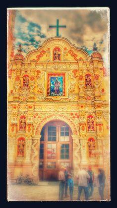 Parroquia de Aljojuca, Puebla, México.