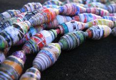 Cuentas de papel by María Tenorio, via Flickr