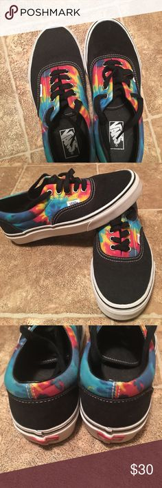 huge selection of 1e053 3dc49 Shoes, Vans These Vans are in excellent condition, Black with tie dye, Size