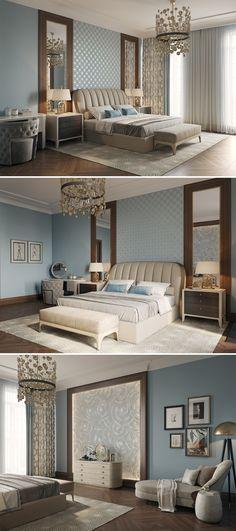 Barkli bedroom - Галерея 3ddd.ru