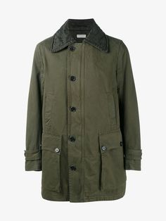 DRIES VAN NOTEN 'VERNY' MILITARY PARKA. #driesvannoten #cloth #