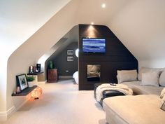 Exalted Attic Renovation Kids Ideas - Jenny K - Exalted Attic Renovation Kids Ideas Fabulous Diy Ideas: Attic House Master Bath attic bathroom stairs. Diy Stairs, Bedroom Design, House Stairs, House, Loft Room, Interior Design, Attic Bedroom Designs, Loft Conversion, Attic Conversion