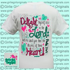 Shirt Color: White  To order, please visit:  http://www.girliegirloriginals.com/index.php?main_page=product_info&cPath=34_17&products_id=1719  Actual color may vary from the color on your screen due to monitor color restrictions