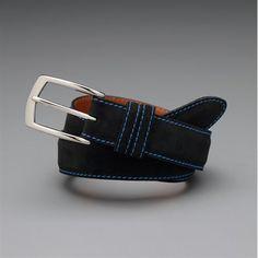 Custom Suede Belt - Black| www.alyssapaulson.jhilburn.com