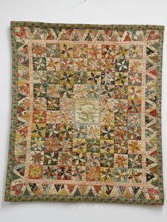An Moonen collection Dutch crib quilt