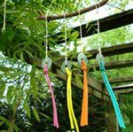 Easy to Make ... Wind Mobile ... fun and easy DIY craft project ... perfect for kids and Girl Scouts