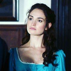 Lily James as Elizabeth Bennett