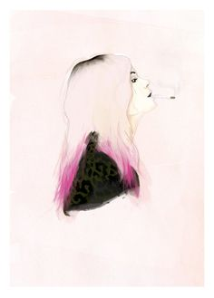 Alison 'VV' Mosshart  The Kills by ANDLIZZY on Etsy