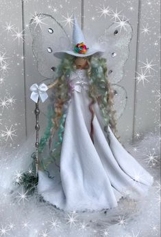 Festive Crafts, Diy And Crafts, Christmas Crafts, Unicorn And Fairies, Flower Fairies, Tiny Dolls, Soft Dolls, Fairy Lanterns, Sewing Dolls