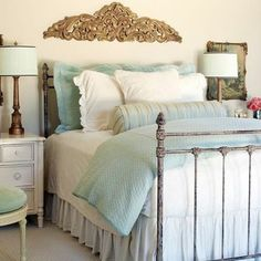 Bedroom Aqua and tangerine Design Ideas, Pictures, Remodel and Decor