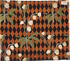 Motif Art Déco | Photo (C) Musée de l'Impression sur Etoffes, Dist. RMN-Grand Palais / David Soyer