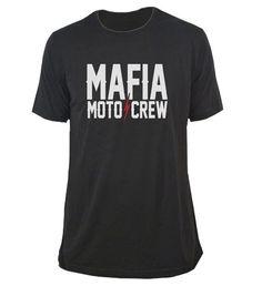 2015 Mafia Moto Crew Motocross MX Mens Casual Tee T-Shirt