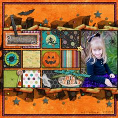 Happy Haunting by Dani Mogstad @ SSD  Net from Haunted by MandaBean @ SSD  Stitching by Libby Weifenbach @ SSD
